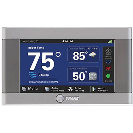 trane digital thermostat tri-city air conditioning co. kingsport johnson city bristol